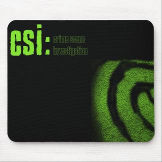 csiの犯罪現場の調査 マウスパッド