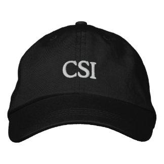 CSI 刺繍入りキャップ