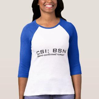 CSI: BSN Tシャツ