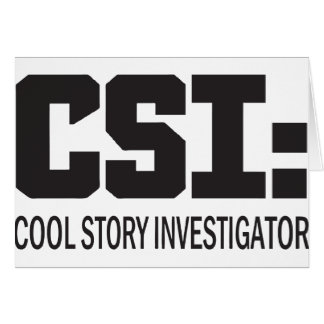 CSI: Cool storyの調査官 カード
