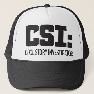 CSI: Cool storyの調査官 キャップ
