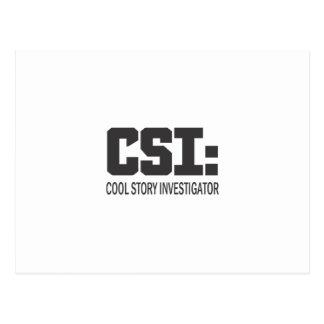 CSI: Cool storyの調査官 ポストカード