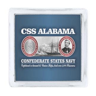 CSSアラバマ(CSN) 銀色 ラペルピン