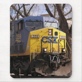 CSXの列車 マウスパッド