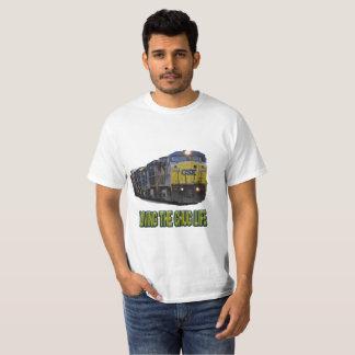 CSXの汽笛の音の生命 Tシャツ