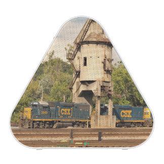 CSXの鉄道ディーゼル機関および石炭タワーのスピーカー ワイヤレススピーカー