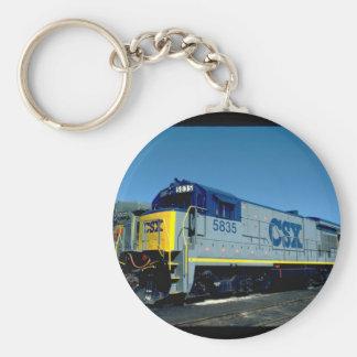 CSX GE B36-7 #5835、1990_Trains キーホルダー
