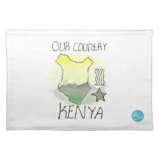 CTCインターナショナル-ケニヤ ランチョンマット