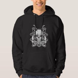 CTC SpiderSkullのフード付きのスエットシャツ パーカ