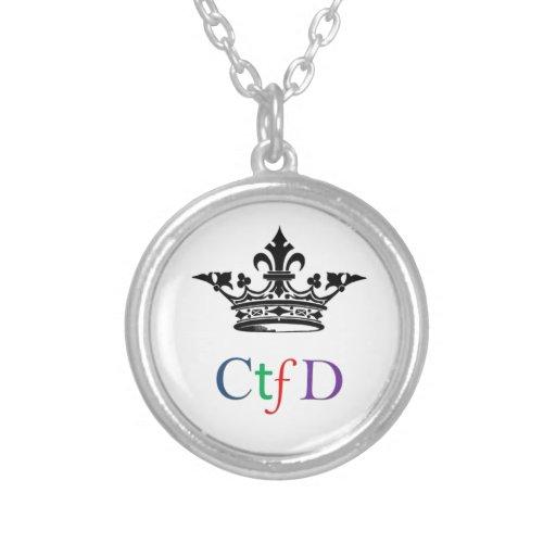 CTFD|円形|ネックレス パーソナライズネックレス