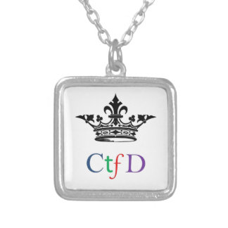 CTFD|正方形|ネックレス