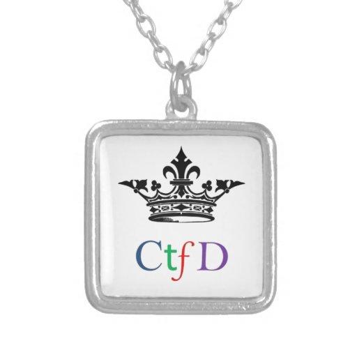 CTFD|正方形|ネックレス オリジナルジュエリー