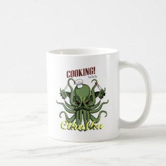 Cthulhuとの調理 コーヒーマグカップ