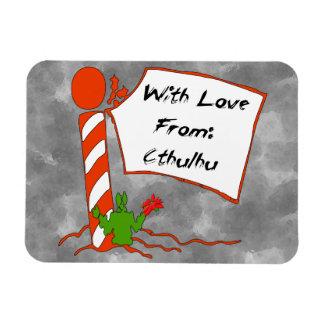 Cthulhuのクリスマス マグネット