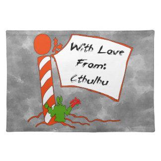 Cthulhuのクリスマス ランチョンマット