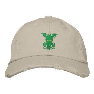 Cthulhuの帽子 刺繍入りキャップ