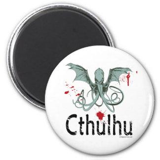 Cthulhuの恐怖ベクトル芸術 マグネット