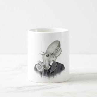 Cthulhuの紳士のヴィンテージのイラストレーションのマグ コーヒーマグカップ