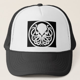 Cthulhuの記号のトラック運転手の帽子 キャップ