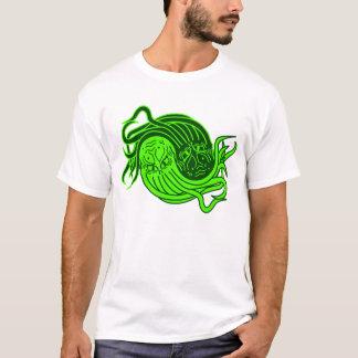 Cthulhuの陰陽 Tシャツ