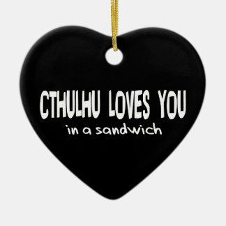 Cthulhuは愛します セラミックオーナメント