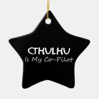 Cthulhuは私の副操縦士です セラミックオーナメント