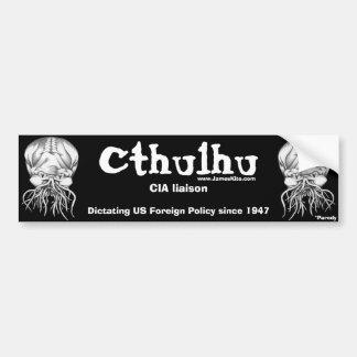 Cthulhu: CIAの連絡 バンパーステッカー