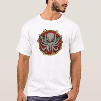 Cthuluの頂上 Tシャツ