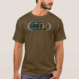CTRのエレガントなスタイル- TシャツCC4 Tシャツ