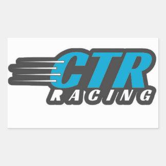 CTRのステッカー 長方形シール
