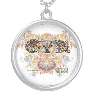 CTRのネックレスの華麗さのスタイル- F CC05 シルバープレートネックレス