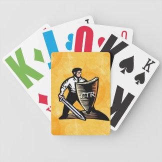 CTRの戦士のカジノカード バイスクルトランプ