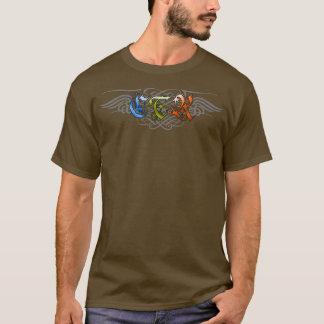 CTRの華麗さのスタイル- D3 Tシャツ