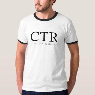 CTR -チャールズ・テイズ・ラッセル Tシャツ