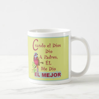 Cuando Dios Dio Padres© Taza コーヒーマグカップ