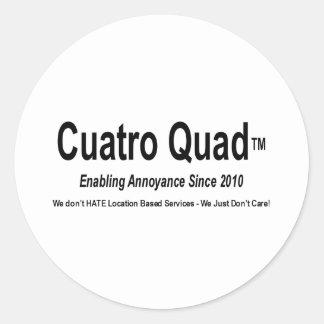 Cuatroのクォード-厄介を可能にすること ラウンドシール