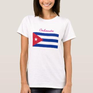 Cubanitaのキューバ人の旗 Tシャツ