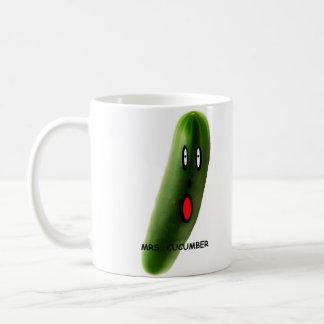 CUCUMBER夫人 コーヒーマグカップ