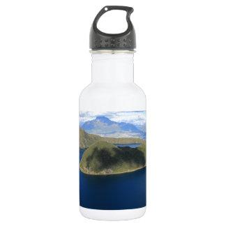 Cuicochaの美しく青い噴火口湖 ウォーターボトル