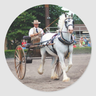 culpeper VAのばん馬ショー ラウンドシール