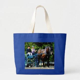 culpeper VAのばん馬ショー ラージトートバッグ