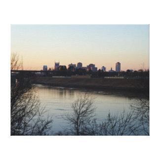 Cumberland川 キャンバスプリント