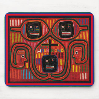 Cunaの種族のデザイン マウスパッド