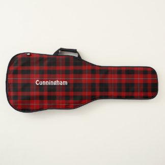 Cunninghamのタータンチェック格子縞のギターの箱 ギターケース
