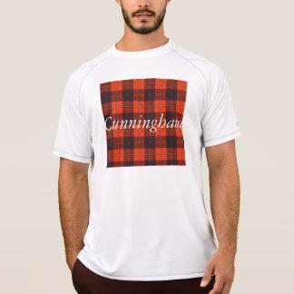 Cunninghamの一族の格子縞のスコットランド人のタータンチェック Tシャツ