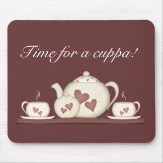 cuppaの時間! マウスパッド