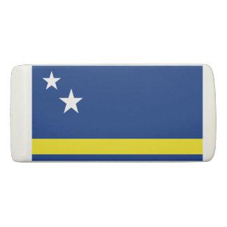 Curaçaoの消す物の旗 消しゴム