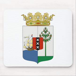 Curaçaoの紋章付き外衣 マウスパッド