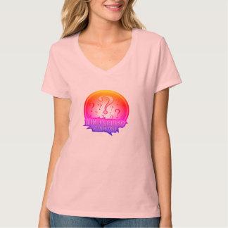 Curiosoのポッドキャストの虹のワイシャツ Tシャツ
