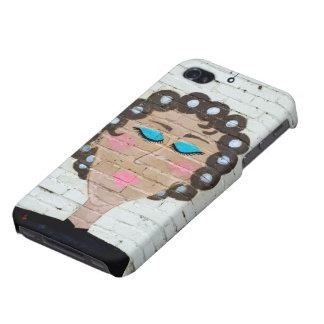Curlersの女性 iPhone 4/4Sケース